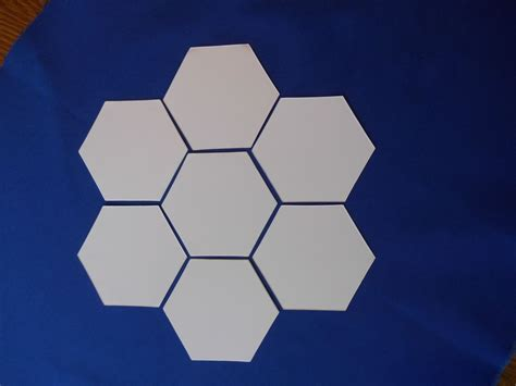 250 Paper Piecing Hexagon Templates Different all quilty 150 shapes 3 4 inch hexagons paper