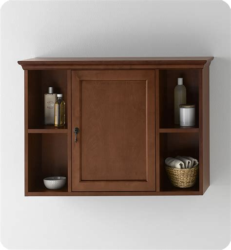 Cherry Bathroom Wall Cabinet Ronbow 688225 F11 Traditional Bathroom Wall Cabinet In Colonial Cherry