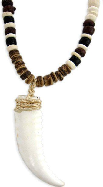 Tooth Necklace real tiger tooth necklace