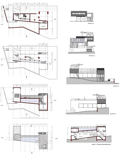 villa layout dwg rem koolhaas villa dall ava 2d dwg rem pinterest
