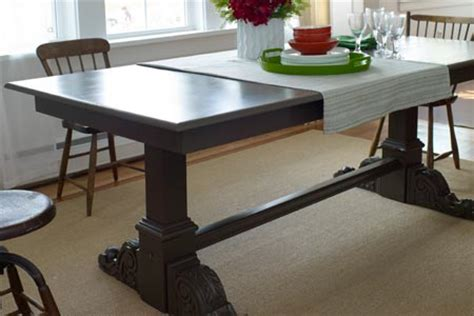 How To Build A Trestle Dining Table How To Build A Trestle Table Simple Diy Woodworking Project Homedesignpictures