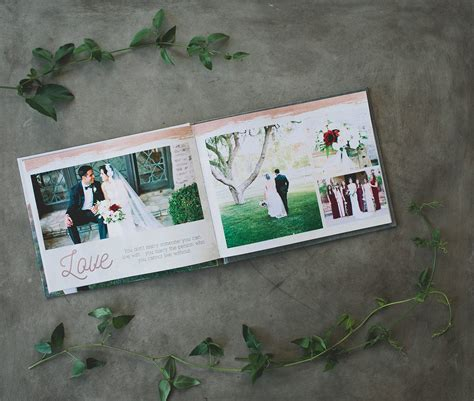 Wedding Album Text by Create Your Wedding Album Cards With Mixbook Green