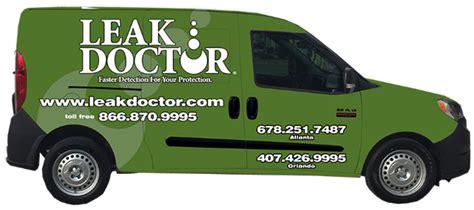 Leak Doctor Plumbing by Atlanta Water Leak Detection Services The Leak Doctor