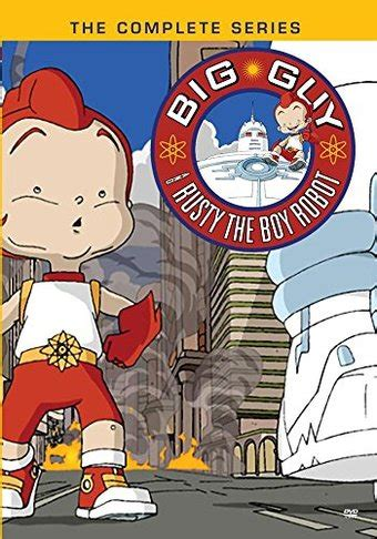 libro big guy and rusty big guy and rusty the boy robot complete series 3 disc dvd r 2016 television on sony