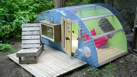 tiny houses and relax shacks more photos of our workshop micro shelter quot the little blue
