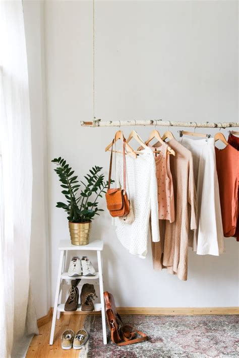 bedroom clothes rack best 25 hanging clothes racks ideas on pinterest wardrobe