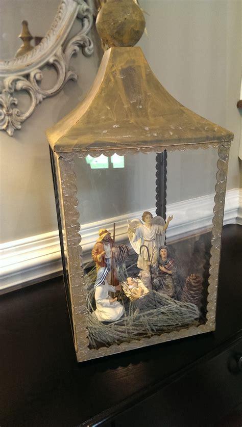 catholic christmas decorating idea one lantern four ways