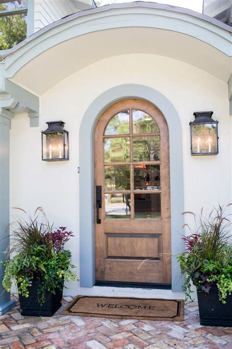 fixer upper outdoor lighting fixer upper makeover a style packed small space hgtv s