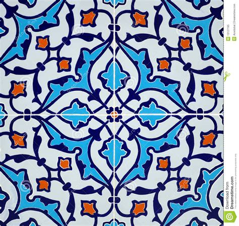 Door Pattern persian tile design royalty free stock photo image 13127195
