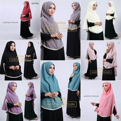 Grosir Mukena Murah Roseglow Grey Hq jilbab sifon maroko model terbaru bundaku net
