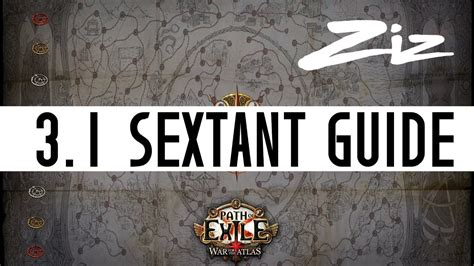 sextant blocking path of exile 3 1 sextant blocking youtube