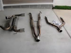 370z Exhaust Systems For Sale For Sale Stillen Cat Back Exhaust G37s Coupe 370z Myg37