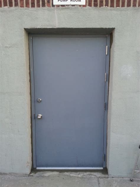Exterior Steel Doors And Frames Industrial Steel Doors Exterior