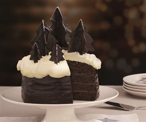 Chocolate Ption 1 In Winter by Winter Forest Chocolate Cake Food Heaven Food Heaven