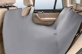 bmw genuine universal rear seat protector various models