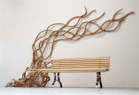 unique indoor benches unusual indoor benches 25 unique wooden designs