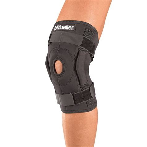 Knee Support Ligament pro style hinged knee brace