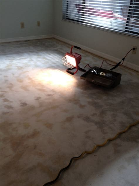 Removing Carpet Adhesive From Concrete Floor by Glue Removal From Concrete Floor Flooring Contractor Talk