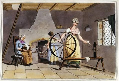 What Is The Meaning Of Cottage Industry by The Modern World Illustrations