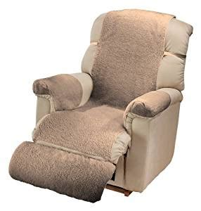 sherpa recliner cover com sherpa recliner cover by miles kimball