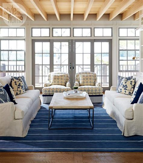 Lake House Decorating On A Budget by House Tour Neutral Nautical Lake House House Tours