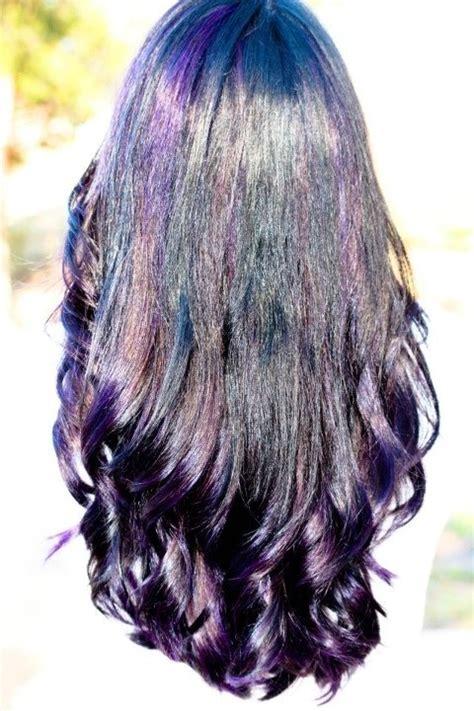is streaking still popular on hair 17 best images about purple 1 on pinterest dark purple