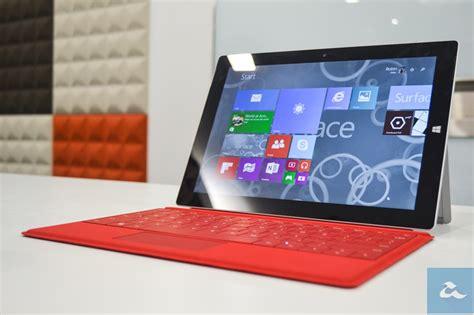 Microsoft Surface 3 Di Malaysia pandang pertama microsoft surface 3 windows 8 1 dengan intel atom pengecas berasaskan mikro