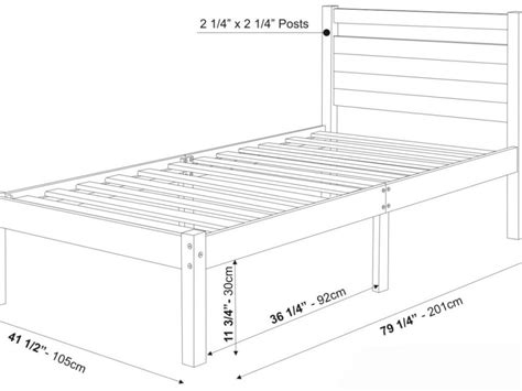 King Size Bed Frame Dimensions Size Bed Frame Dimensions Na Ryby Info