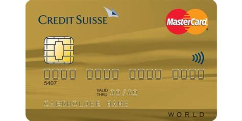 Plafond Retrait Gold Mastercard by Mastercard Credit Suisse