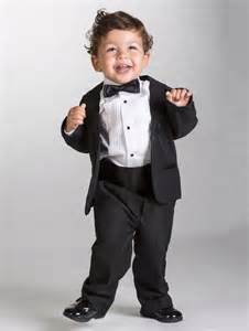 Baby Suit Baby Boys Black Tuxedo Baby Boys Wedding Suits Mikey