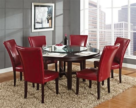round dining room sets for 8 hartford piece set wayfair