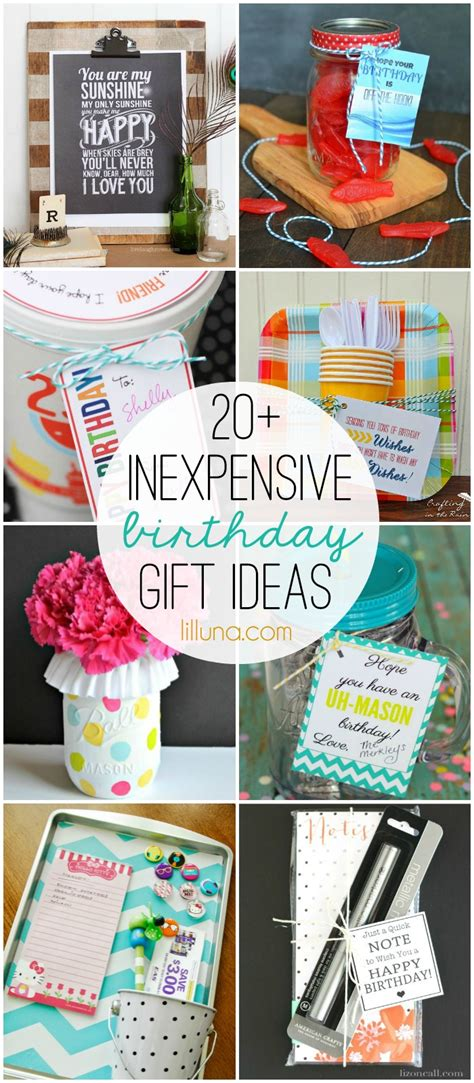 inexpensive gifts for inexpensive birthday gift ideas