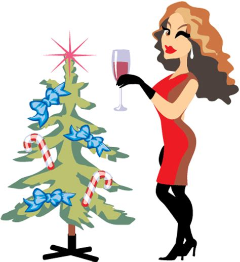 christmas cocktail party clipart ladies christmas party clipart 29