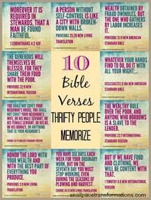 10 bible verses thrifty memorize snail pace