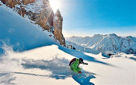 best ski resorts for guaranteed snow telegraph