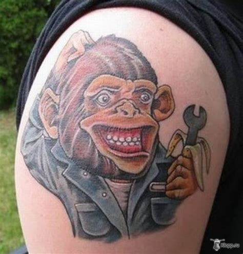 cute tr st tattoos 45 monkey shoulder tattoos design