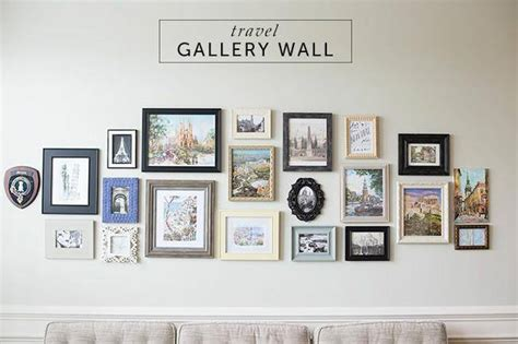 travel wall ideas 28 ideas for gorgeous diy gallery walls tip junkie