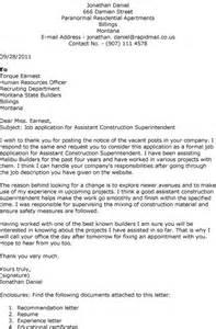 Construction Resume Cover Letter management cover letter construction management cover cover letter