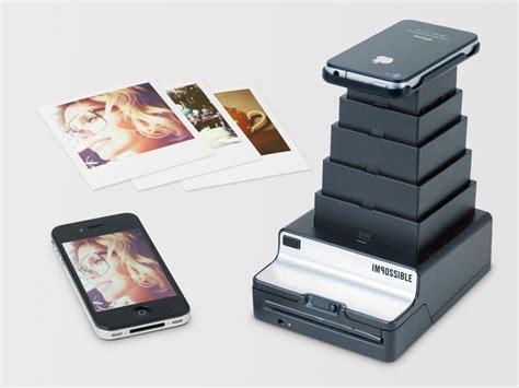 Printer Foto Polaroid the impossible project komt met een polaroid printer voor de iphone want