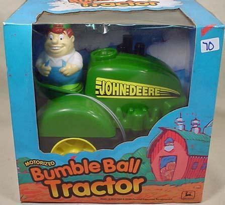 deere motorized tractor deere motorized bumble tractor in orig