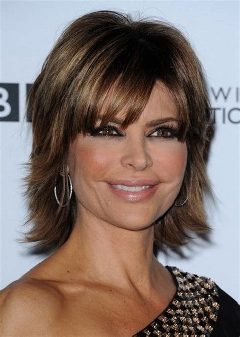 medium short layered haircuts