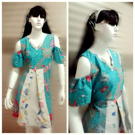cantika batik dress dress batik cantik dng variasi lubang