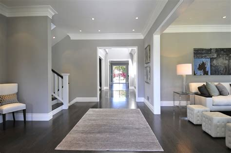 dark wood floors with light gray walls and white trim dark wood floors gray walls and on idolza light gray