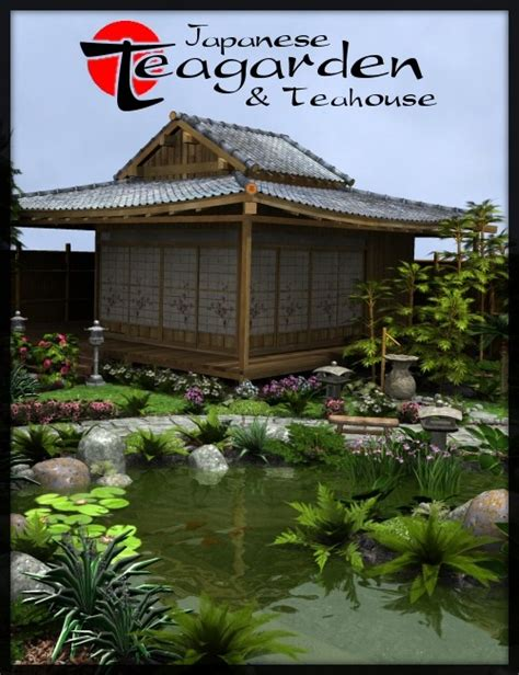 tea house garden japanese tea garden tea house bundle