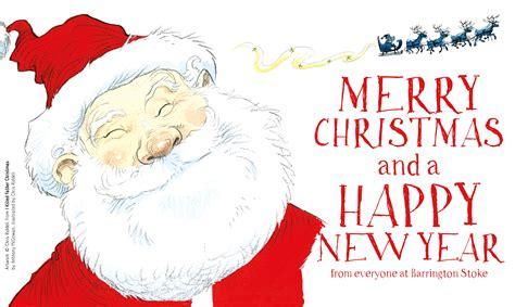 merry christmas   happy  year    barrington stoke barrington stoke