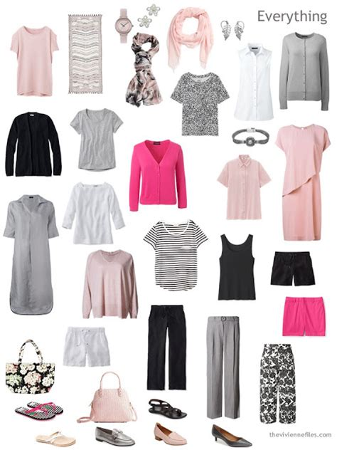 black and white capsule wardrobe how to add accent colors to your capsule wardrobe hot