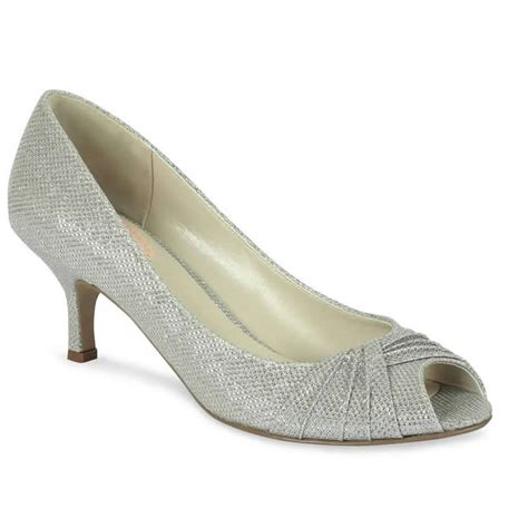 Silver Wedding Shoes by Pink Paradox Silver Wedding Shoes Wedding Shoes
