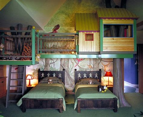 coolest kids bedrooms notes