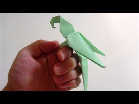 Origami Macaw Parrot - tutorial origami latios latias part 1 funnydog tv