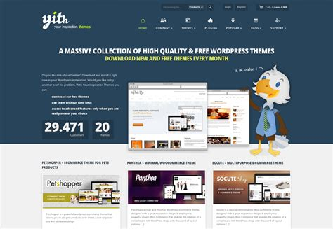 themes template the a z of theme websites webdesigner depot
